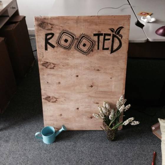 rooted sign
